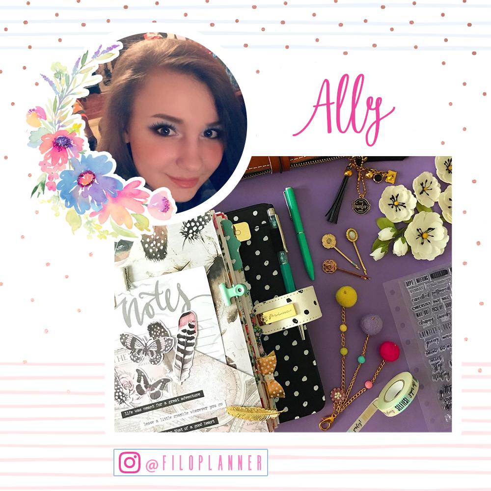 Welcome Ally!  www.instagram.com/filoplanner/
