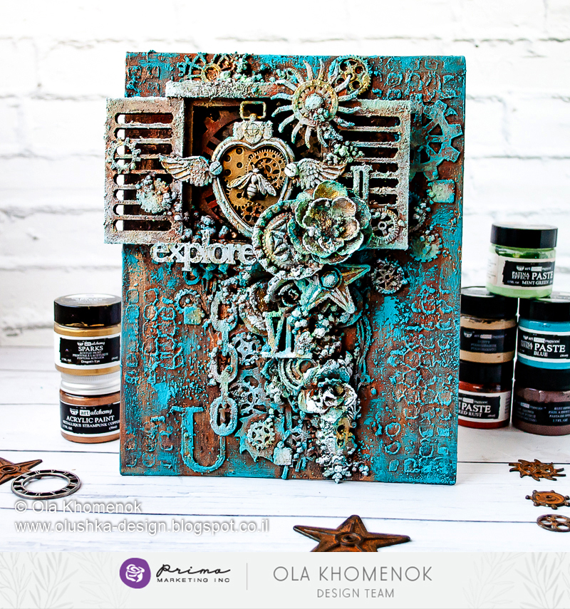 OlaKhomenok-Prima-mixed-media-Steampunk-canvas.jpg
