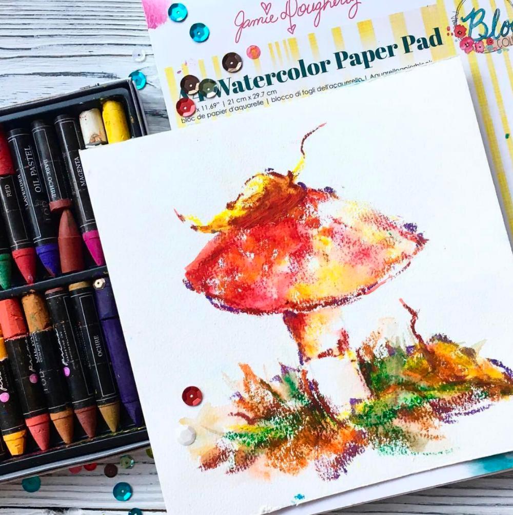 oil pastel drawing by fan @sovetski_razvedchik