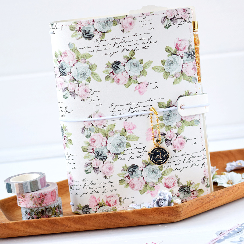 Stunning washi help you line the inside of your monthly, and journal pages.