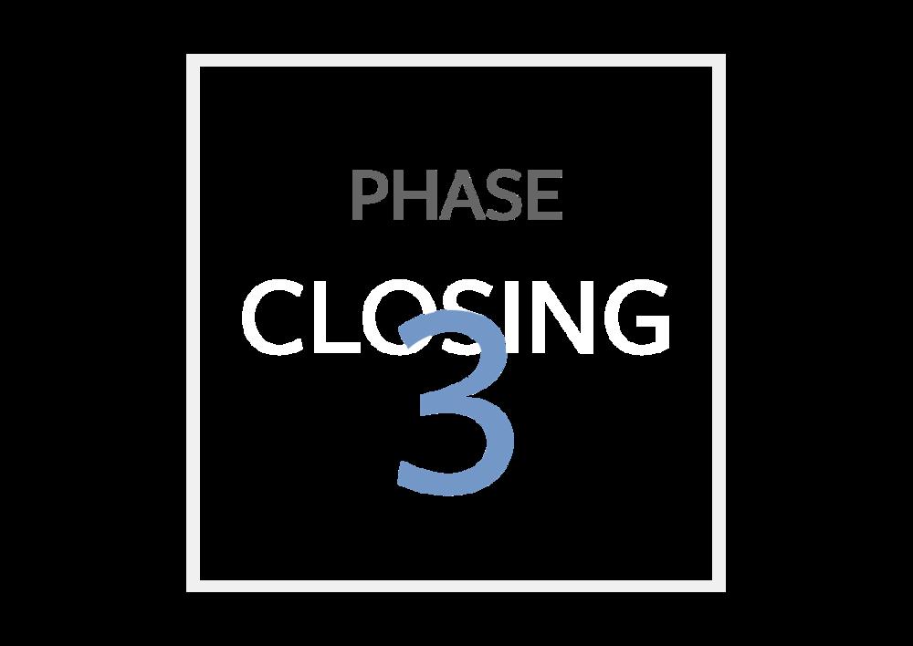 Transaction process phase 3 | Glenshore