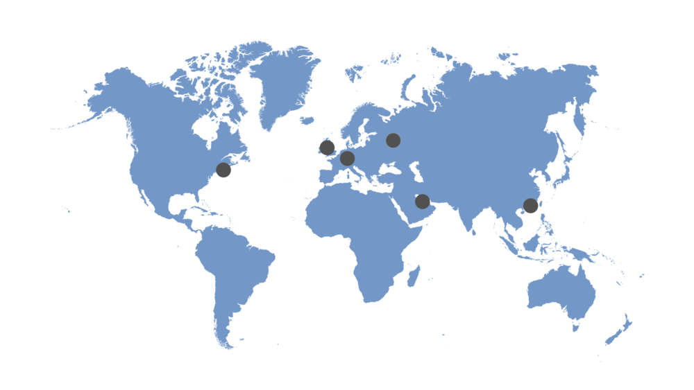 Worldwide locations | Glenshore