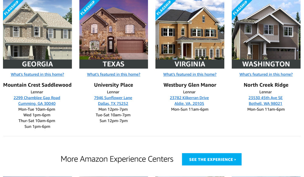 Amazon has transformed homes intoAmazon experience centers you can control with your voice through Alexa, featuring the benefits of Prime, Home Services, Automated deliveries, and more