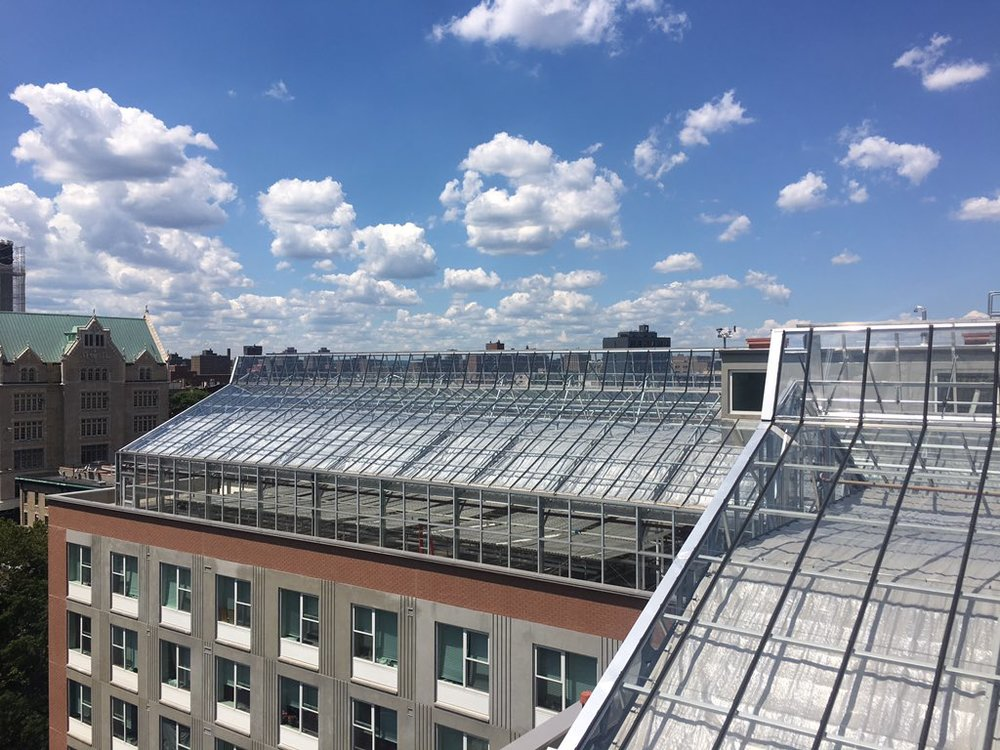 High-tech rooftop greenhouse designed by Nexus