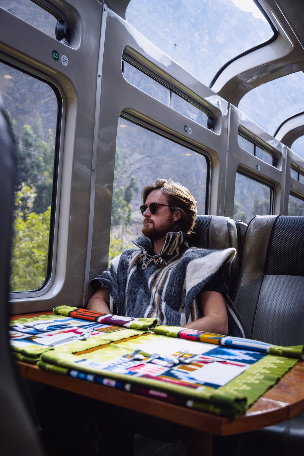 Peru Rail train to Machu Pichu