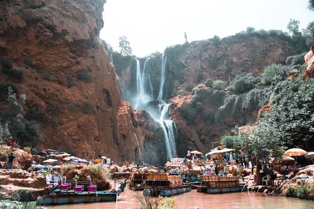 Waterfall Morocco