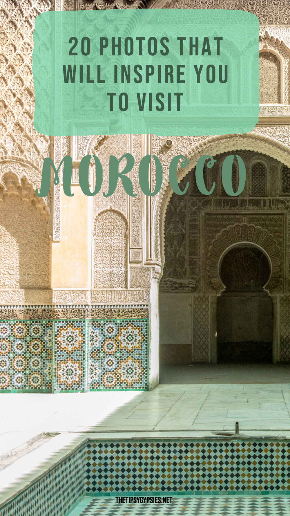 THE MOST BEAUTIFUL PLACES IN MOROCCO