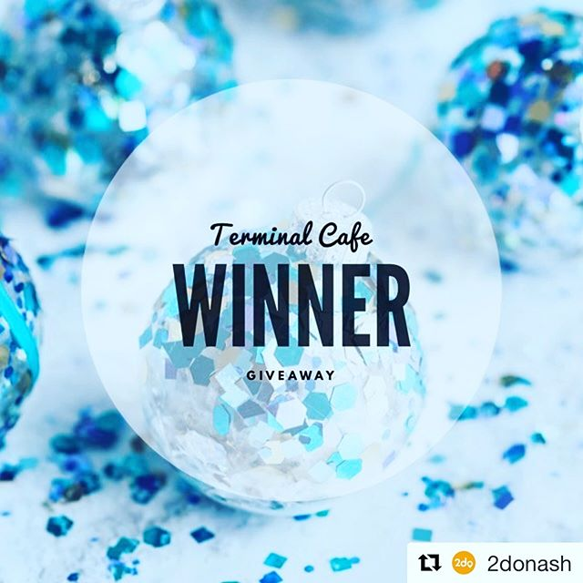 #Repost @2donash with @get_repost ・・・ And the winner of our @theterminalcafe giveaway is.... 🥁🥁🥁🥁🥁 @iamjuliemoe ✈️ Congratulations!