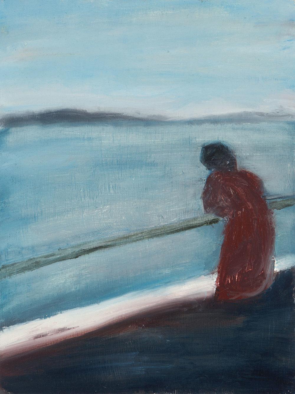 "Sea View.   9"" x 12"", 2010."