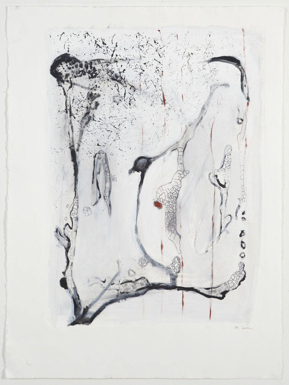 "Gene.   22"" x 30"", 2013."