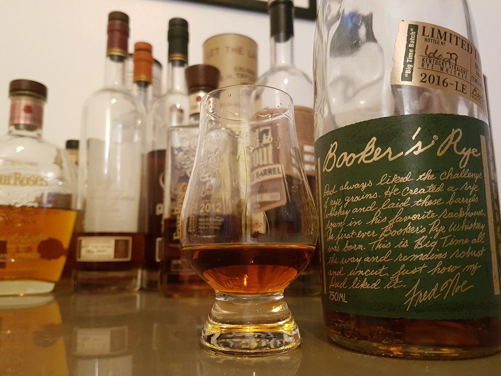 Booker Rye British Bourbon Society