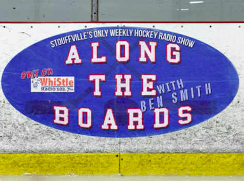 Along The Boards airs a half-hour before every Stouffville Spirit game. Ben Smith recaps the week's major news from minor hockey to professionals, and then sits down and interviews the people who make hockey run from the local rink and beyond.