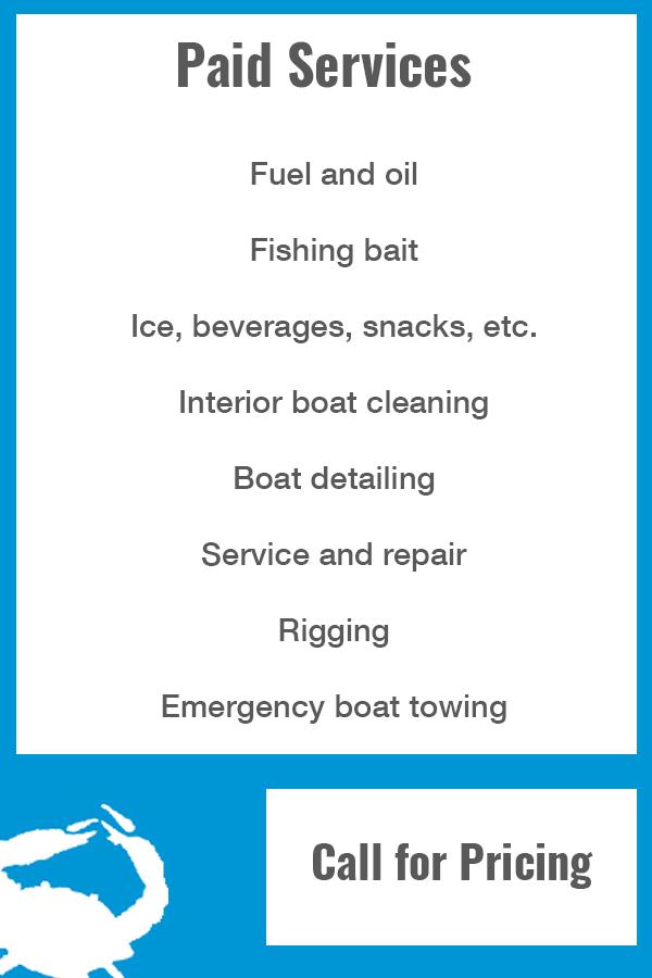 Bluff Bay Marina - Pricing & Services - Corpus Christi