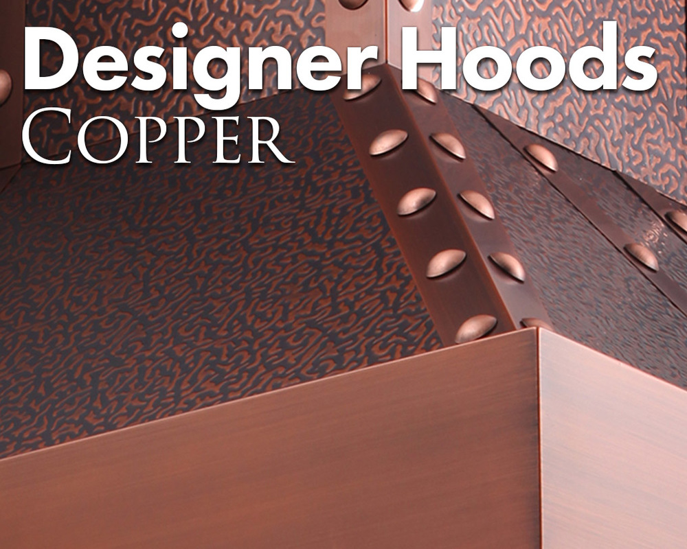ZLINE Copper Hoods are built to last and age beautifully. The understated drama that comes with a copper range hood never goes out of style.