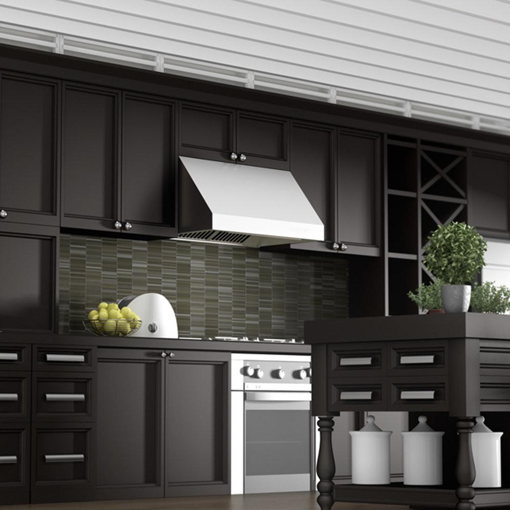 Merveilleux Zline Stainless Steel Under Cabinet Range Hood 685