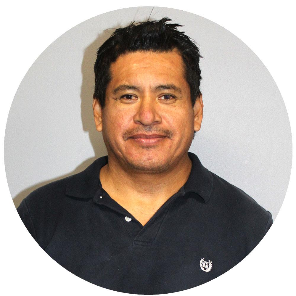 Reynol Ramirez  Receiving Specialist