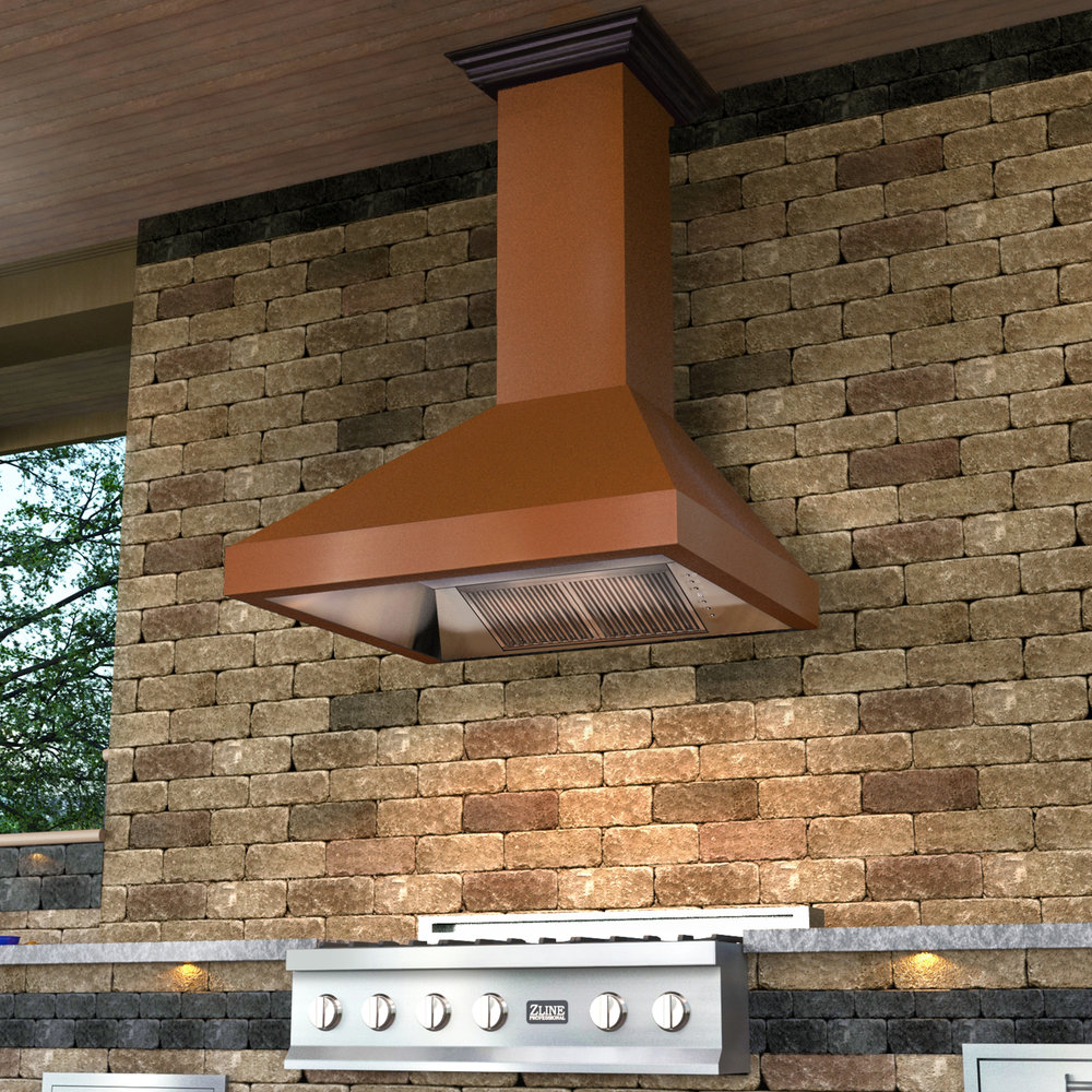 zline-copper-wall-mounted-range-hood-8667C-outdoor-1.jpg