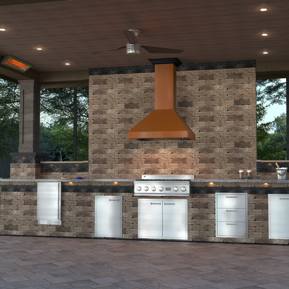 zline-copper-wall-mounted-range-hood-8667C-outdoor-3.jpg