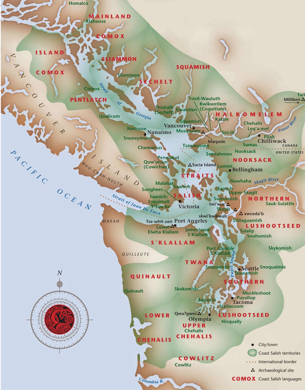 COAST SALISH TRADITIONAL TERRITORIES