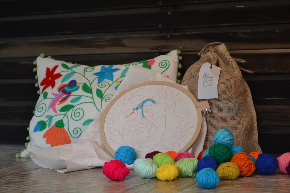 TICAY - Embroidery kits and more! This shop was born from the desire of two sisters from Buenos Aires to work together on what they love the most, crafting and hand made goods!Website: https://www.etsy.com/shop/Ticay