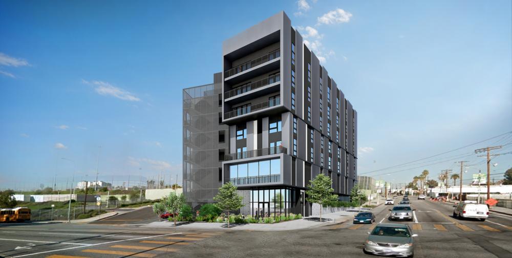 Temple Apartments LaTerra, LA, CA