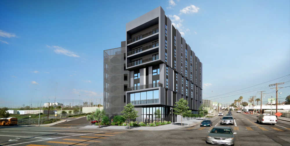 Temple Apartments LA - LaTerra