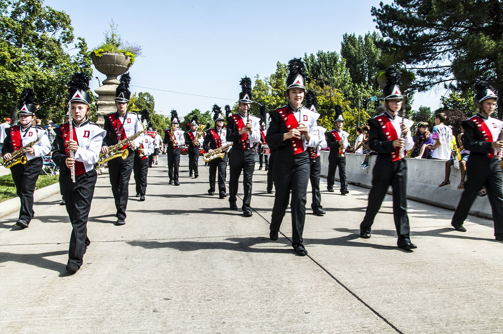 Delta High School Marching Rabbits