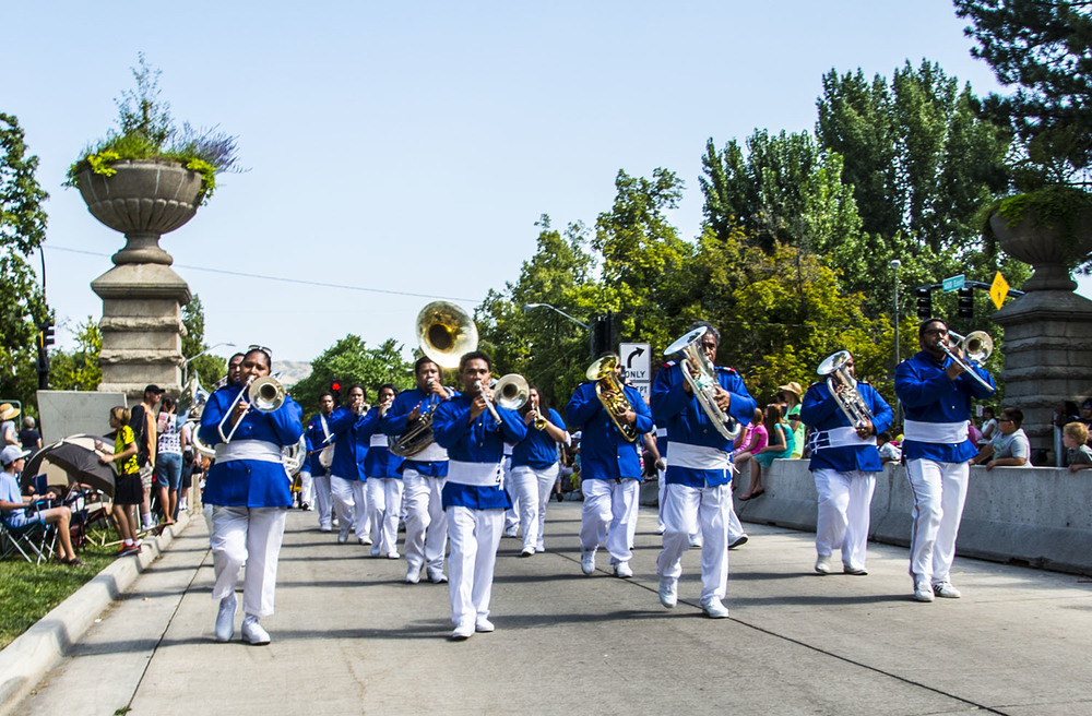 The Free Wesleyan Church of Tonga in Utah Brass Band