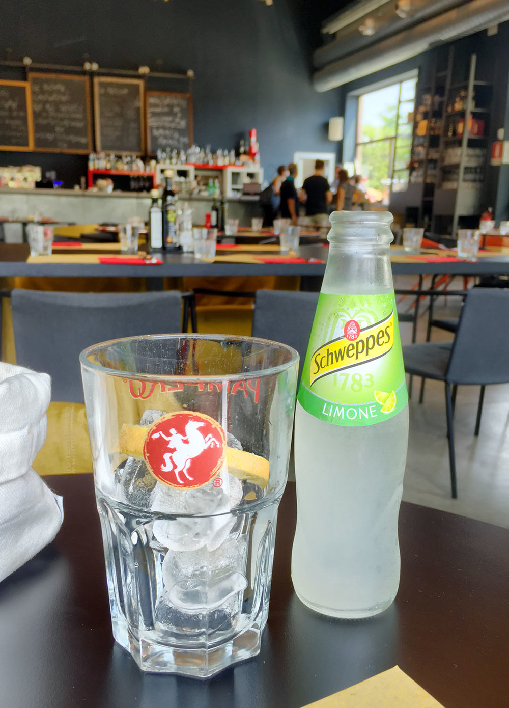 Seriously, get the Schweppes Limone