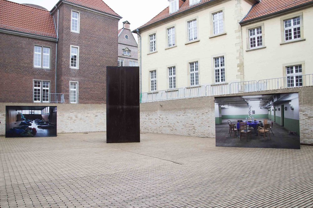 Installation view from Münster Skultur Projekte 2017