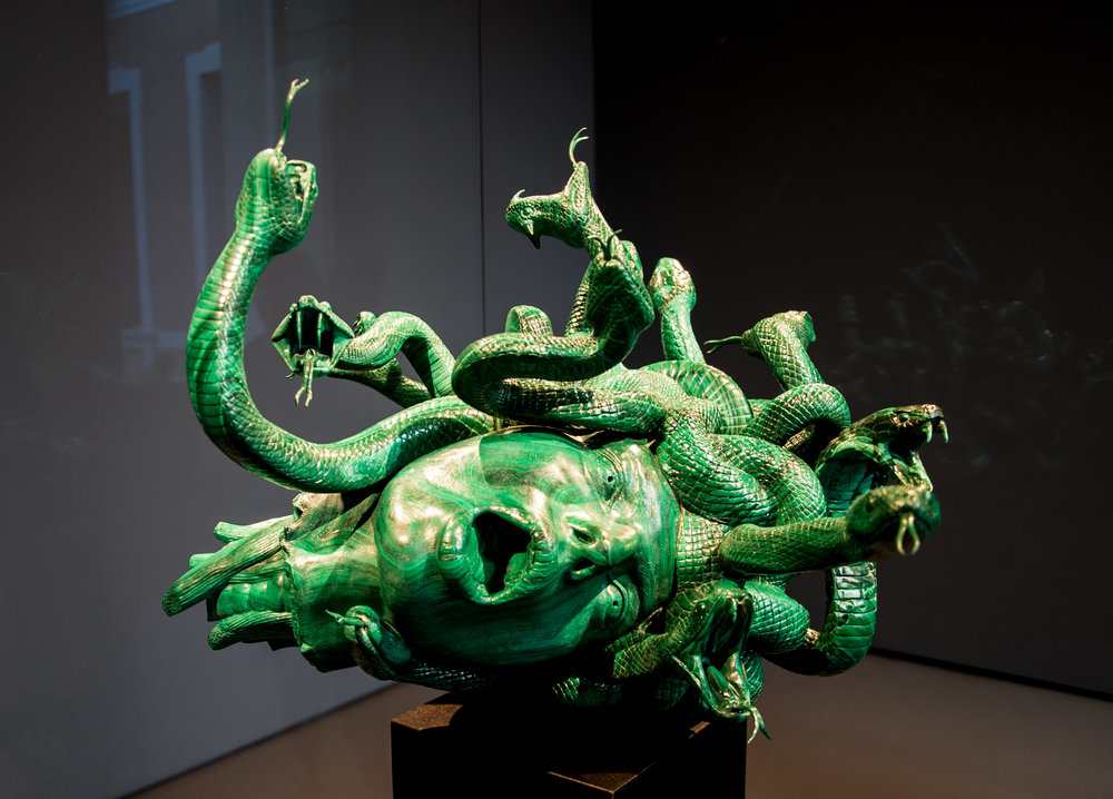 The Severed Head of Medusa