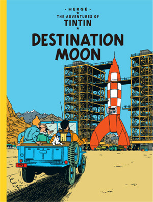 Tintin Destination Moon cover