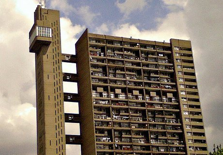 brutalist social housing
