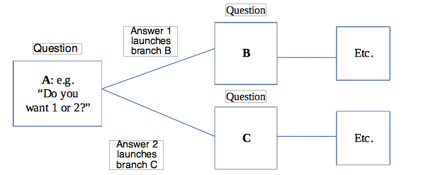 An example of Survey Branching