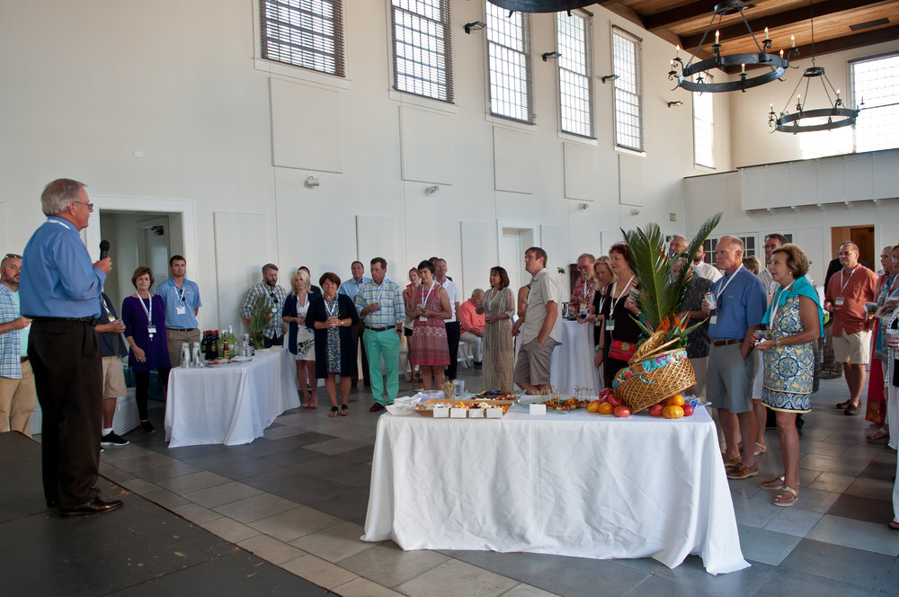 -       Rosemary Beach Sculpture Exhibition Project Director Tom Kramer thanks patrons and artists at the Patrons Party. (Photo by Brandan Babineaux Photography.)    Normal 0     false false false  EN-US JA X-NONE                                                                                                                                                                                                 /* Style Definitions */  table.MsoNormalTable 	{mso-style-name: