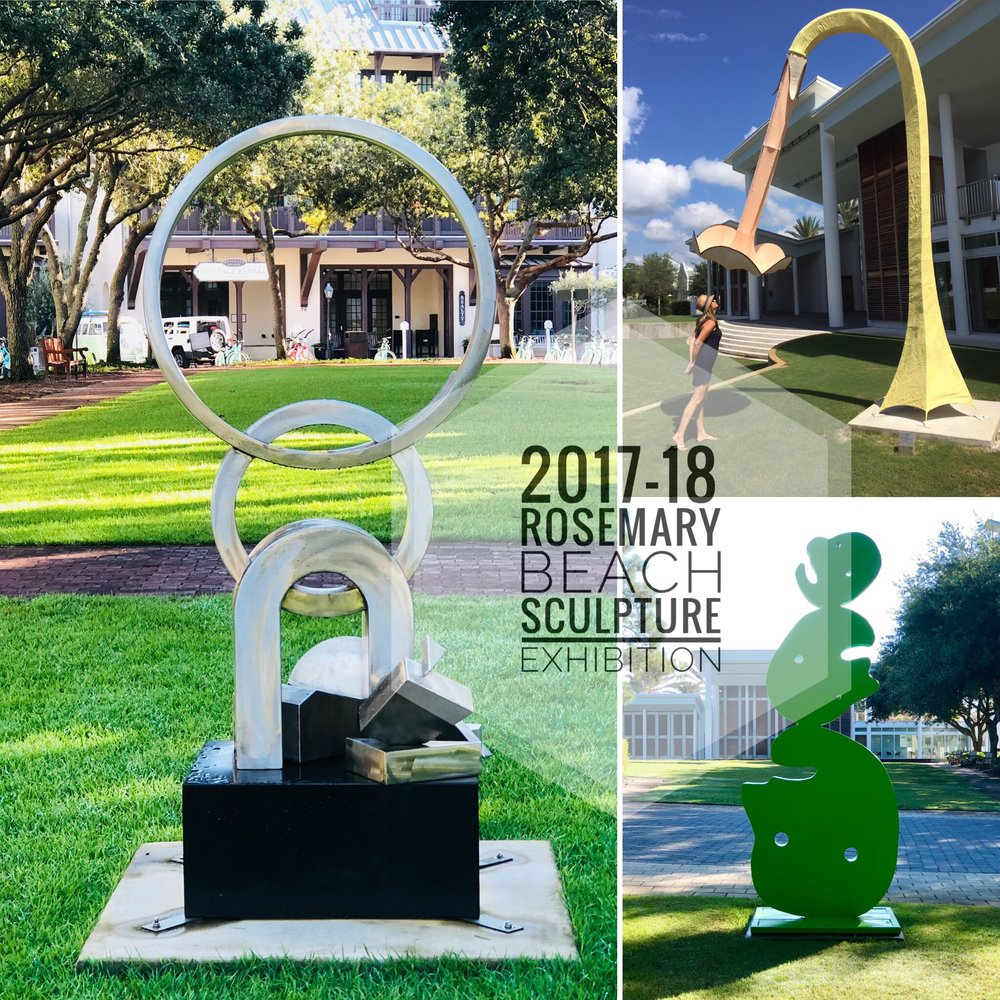 2017 - 2018 Rosemary Beach Sculpture Exhibition