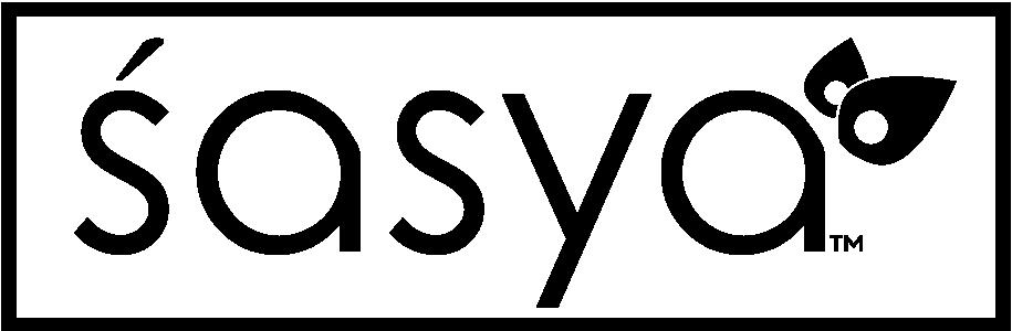 Sasya Logo Box BW.png