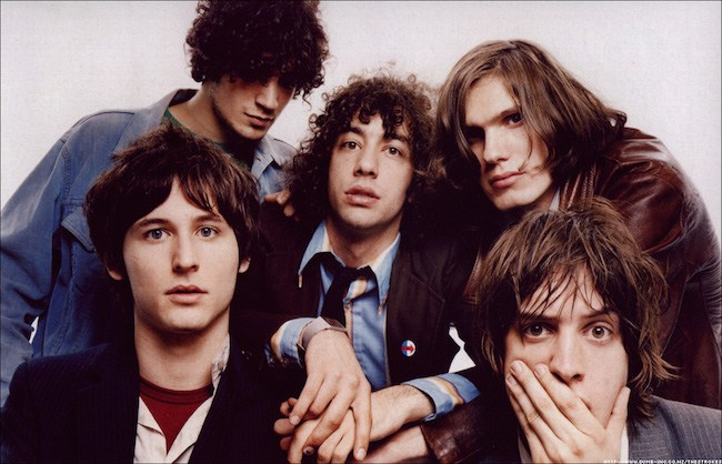 Oh hey, it's the Strokes in 2001. REMEMBER?