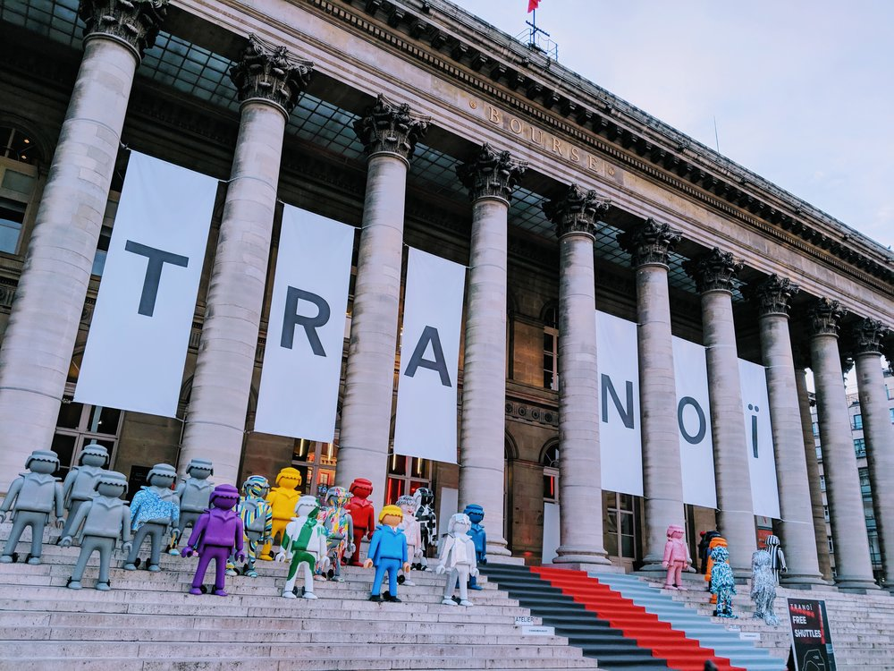 TRANOÏ JANUARY EDITION - JANUARY PARIS FASHION WEEK MENS + GALERIES LAFAYETTE