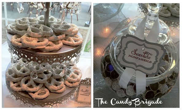 Candy Bar with Tiered Cake Stand