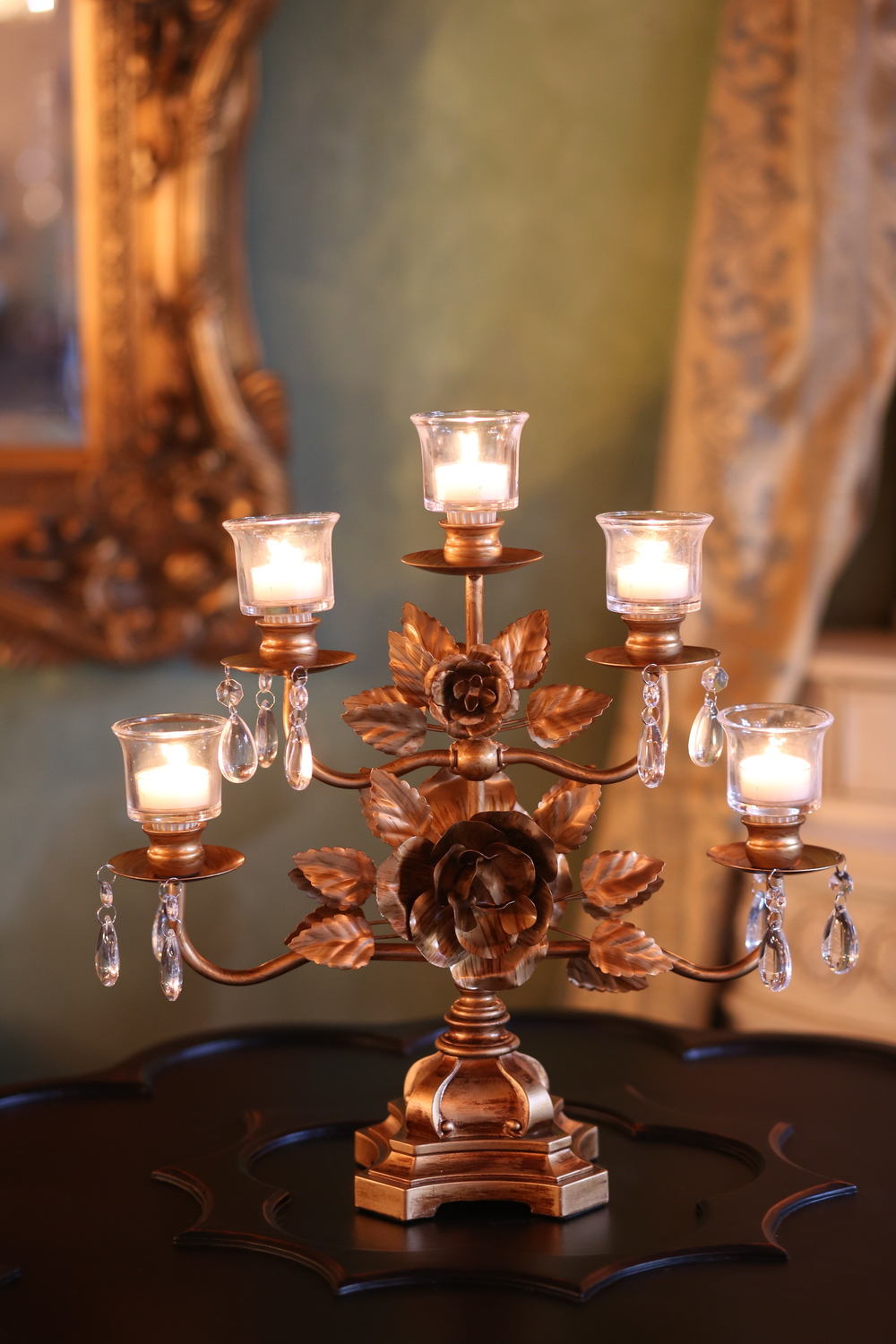 Candelabras for Weddings and Events |  Opulent Treasures