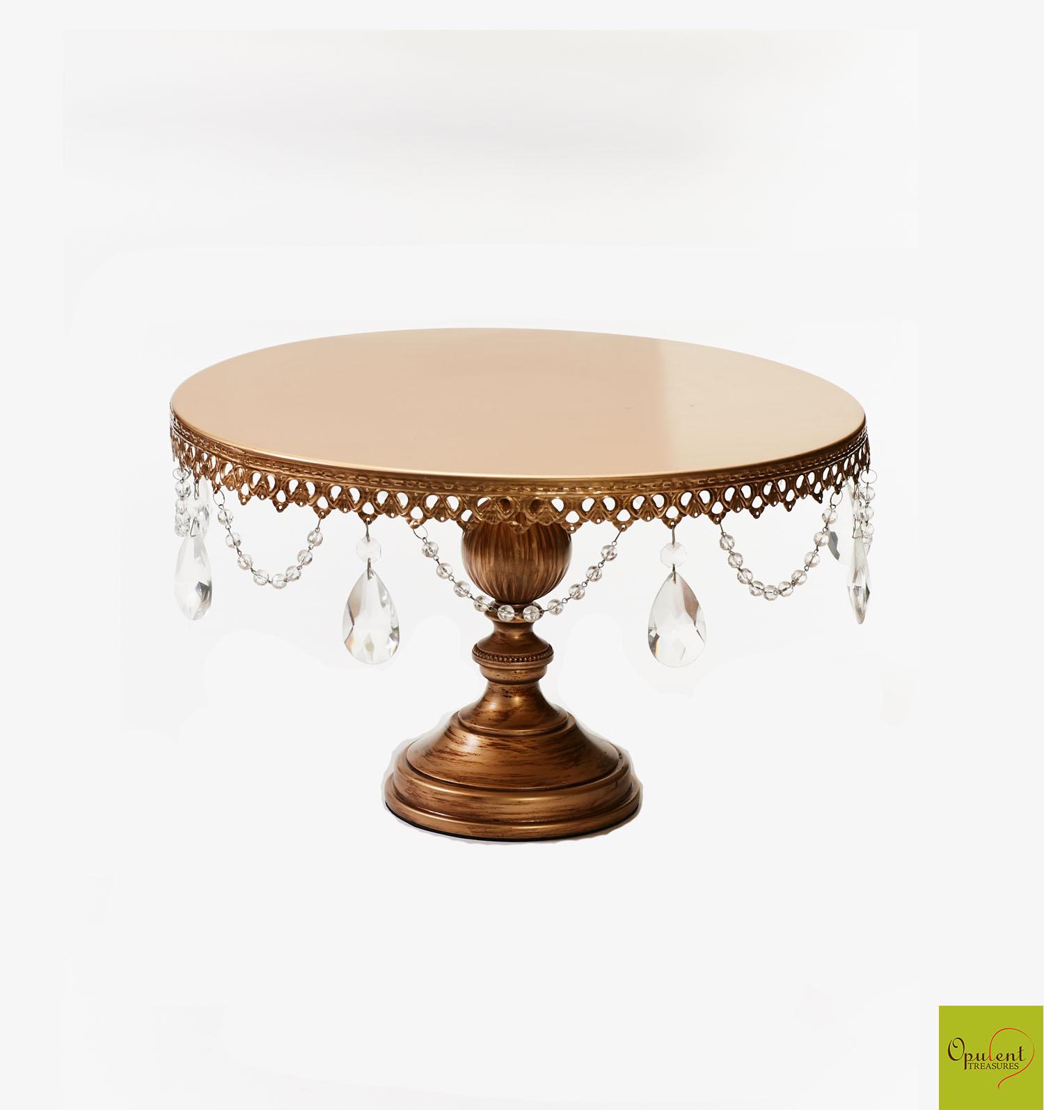 grand round wedding cake stand opulent treasures grand round