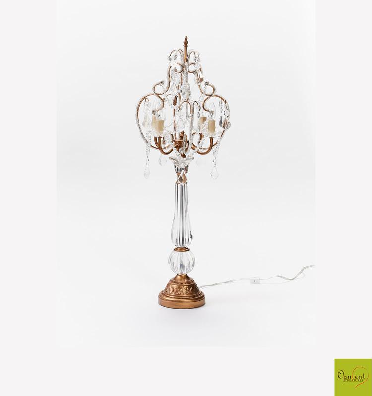 Opulent treasures chandelier table lamp opulent treasures opulent treasures chandelier table lamp aloadofball Image collections