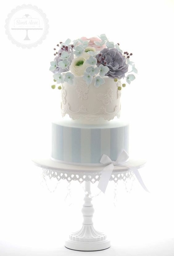 White Chandelier Cake Stand | Opulent Treasures