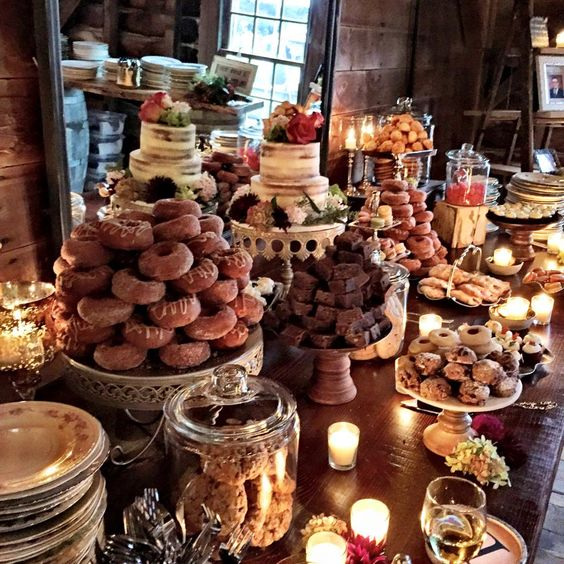Dessert Bar with Opulent Treasures Cake Stands