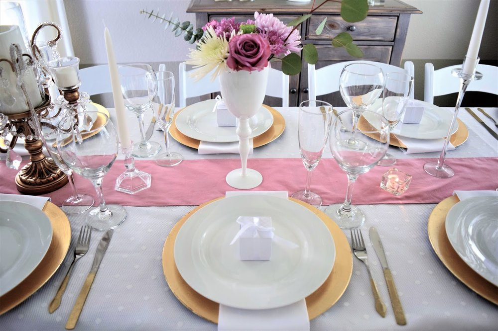 opulent treasures table setting