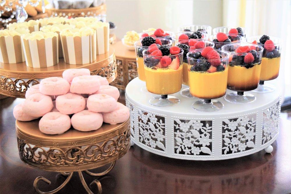 opulent treasures desserts