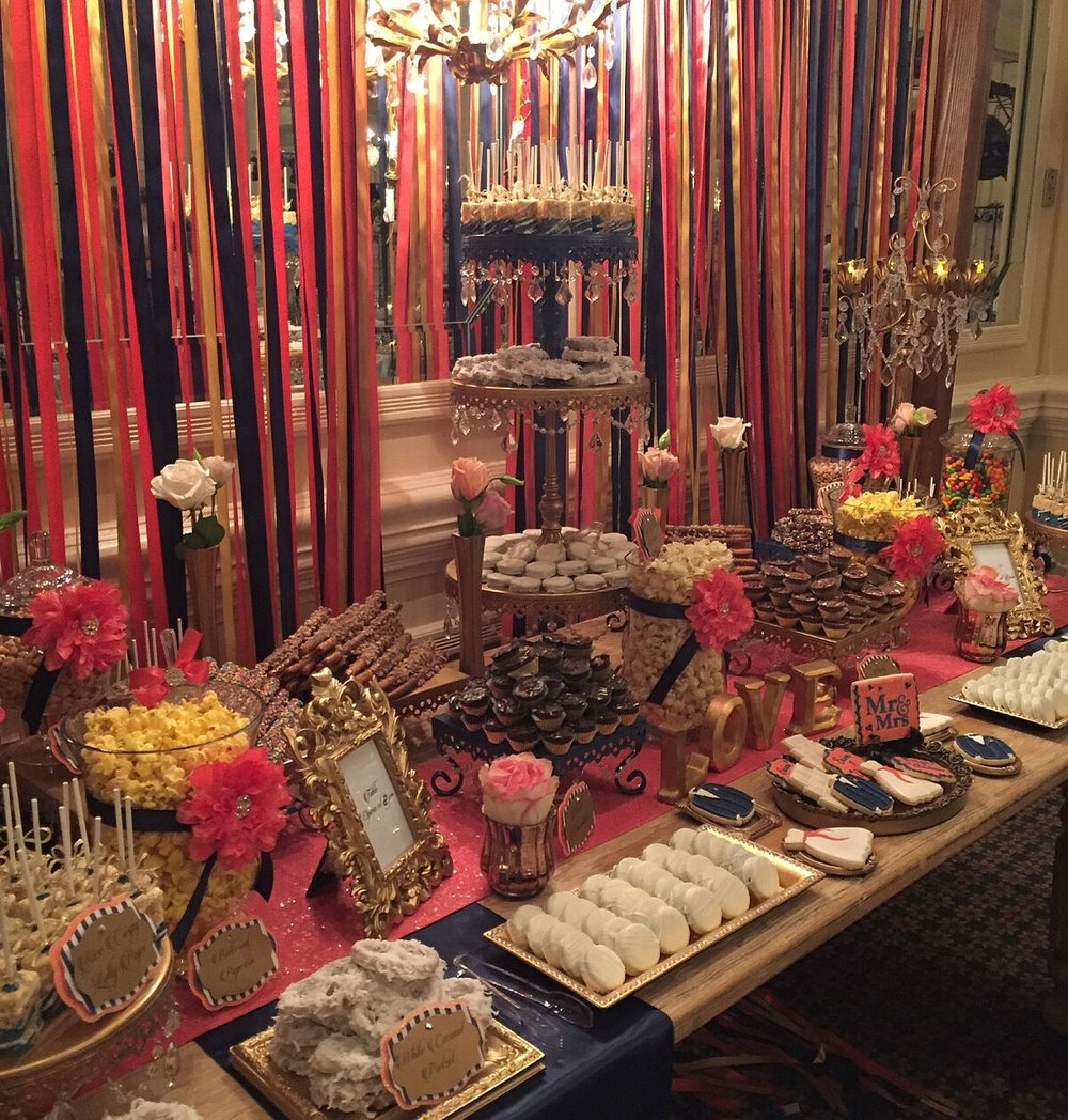 opulent treasures dessert table