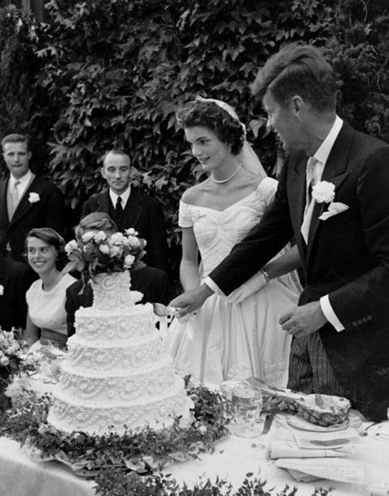 John & Jacqueline Kennedy 1953