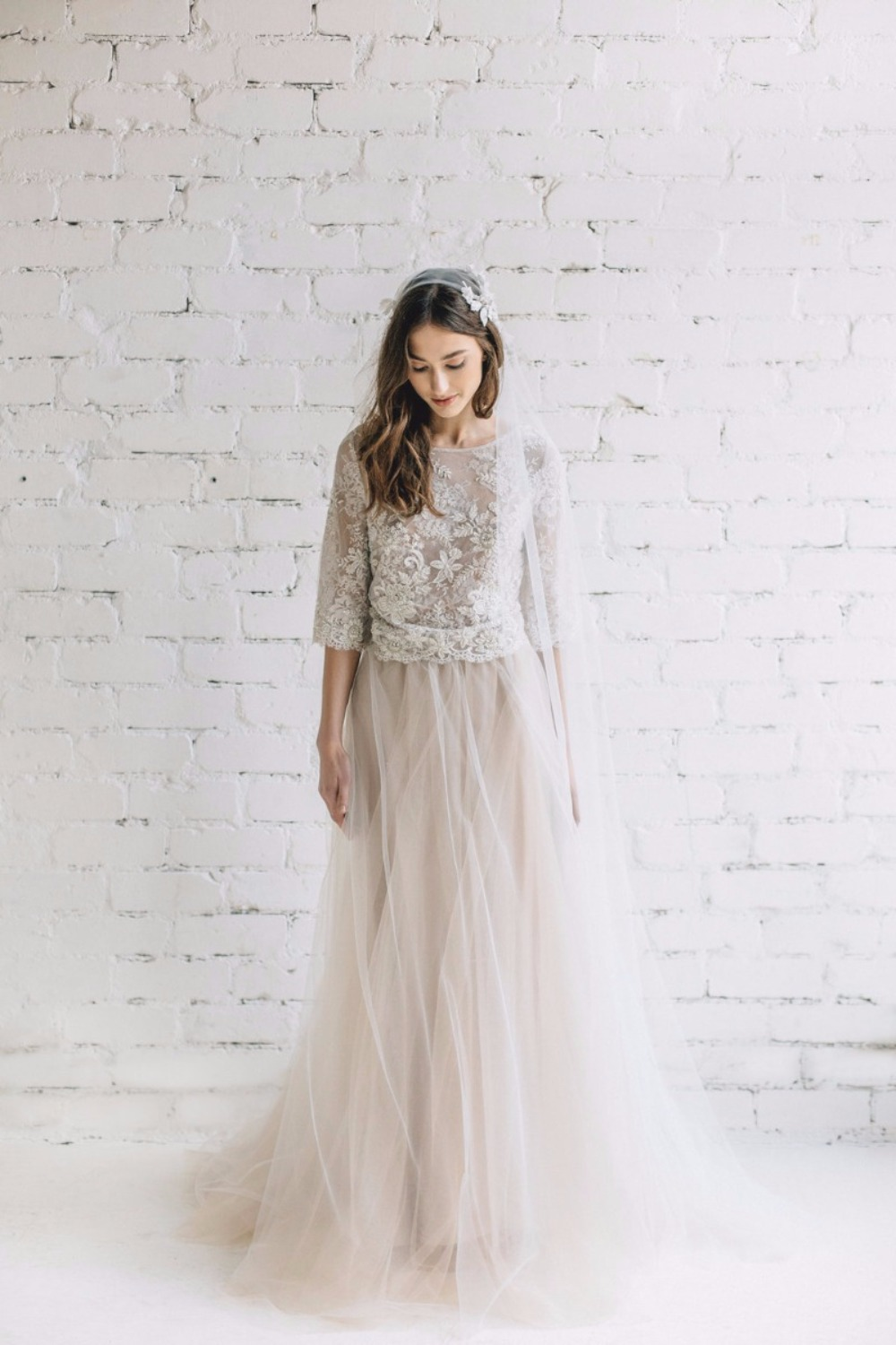That sherbet-y tulle is TDF.   Jurgita Bridal